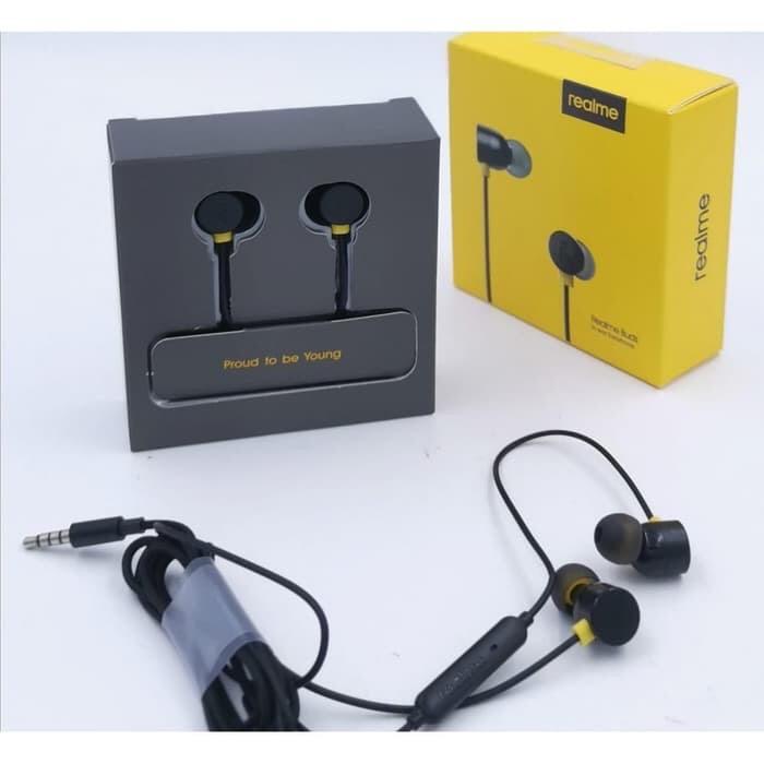 Foto Produk Headset Realme Buds ORI 100% Realme 3PRO Realme XT All Realme Earphone dari Tom-Merchandise