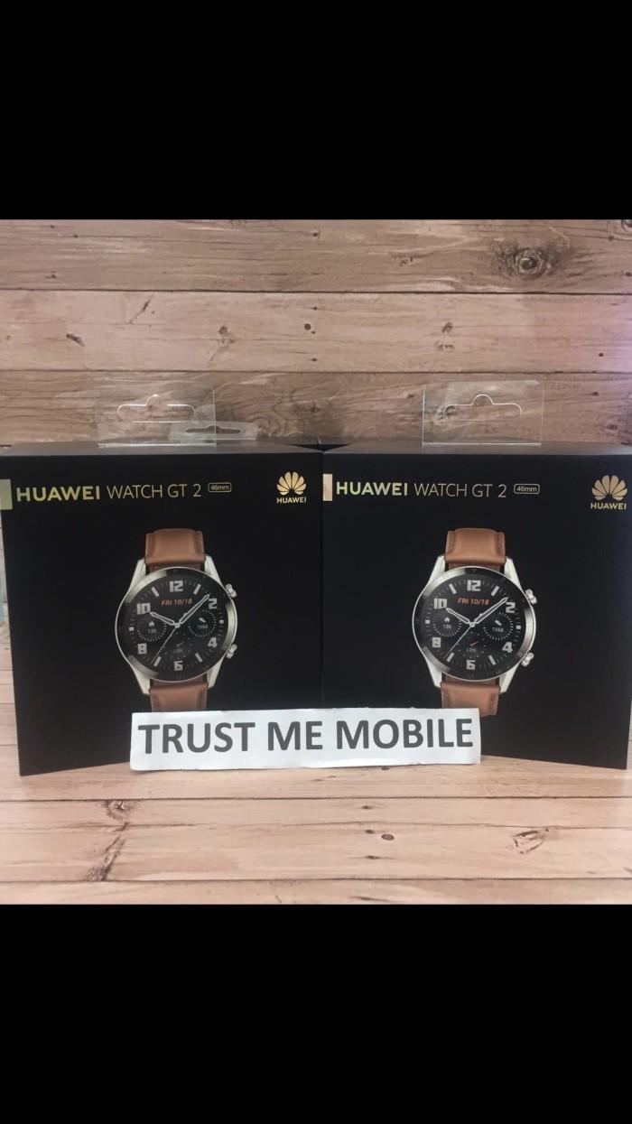 Foto Produk HUAWEI WATCH GT2 B19V CLASSIC BROWN GARANSI RESMI dari Trust Me Mobile