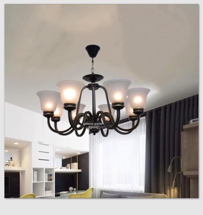 Jual Lampu Gantung Dekorasi Ruang Tamu Minimalis 1631 8 Jakarta Pusat Galleria Gorden Lighting Tokopedia