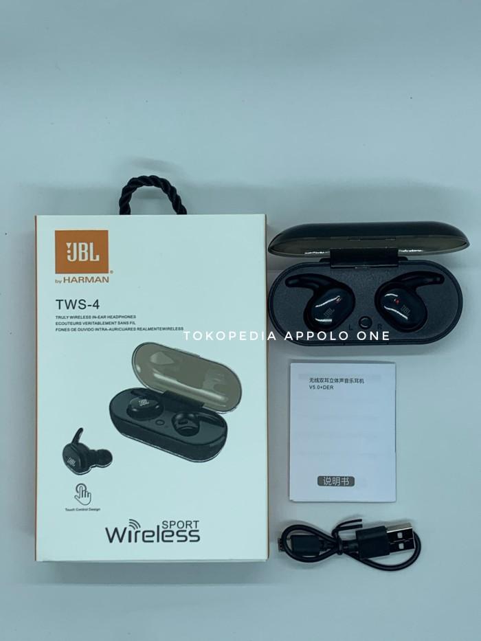 Jual Tws4 Earphone Bluetooth Jbl Tws 4 Oem High Quality Jakarta Pusat Appolo One Tokopedia