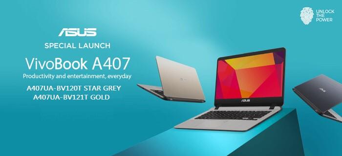 harga Asus a407ua i3-7020 4gb 1tb hd graphic win10 fingerprint slim Tokopedia.com