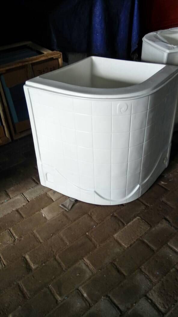Jual Bak mandi oval fiber portable 120 litter - Kota