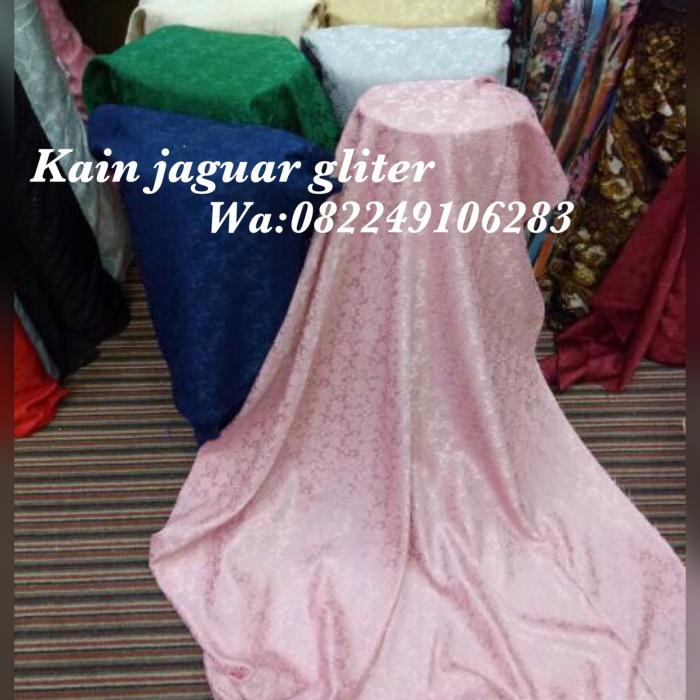 Jual Kain Jaguar Gliter Bahan Busana Wanita Kebaya Gamis Long Dress Dll Dki Jakarta Online Textile Tokopedia