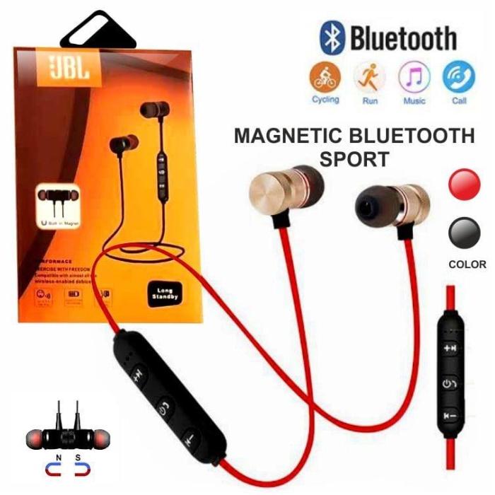 Jual Headset Bluetooth Jbl Sport Magnet 2kuping New Jakarta Utara Fd Acc Tokopedia