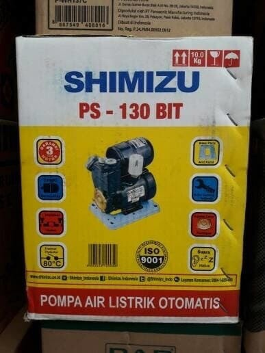 Jual Pompa Shimizu 130 125 Watt Pompa Air Sanyo Dorong 40 Meter Kuat Jakarta Barat Sinar Palem Tokopedia