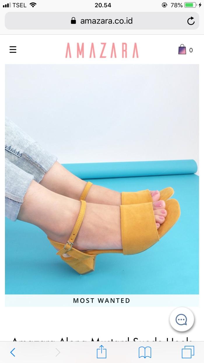 Jual Sepatu amazara shoes - Kab. Brebes