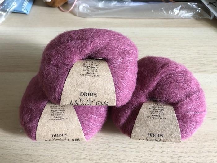 Jual Benang Drops yarn Brushed Alpaca Silk - benang rajut import -  winewin86 | Tokopedia