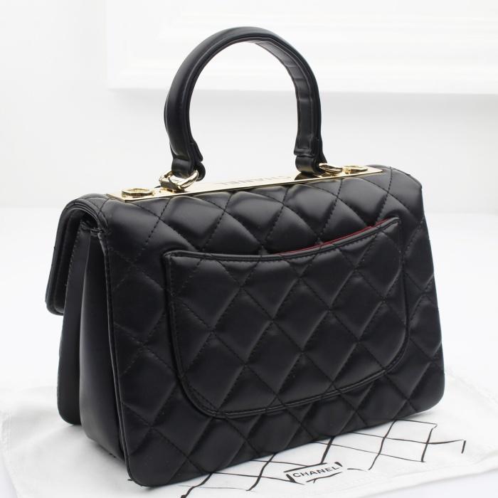 bb29742468dac6 Jual Tas Chanel Flap Classic Lambskin With Metal Plate Include Box ...