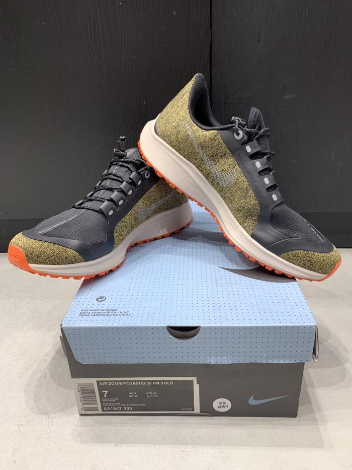 separation shoes 7790e 6108c Jual Nike Air Zoom Pegasus 35 Shield OliveMetallicSilver BNIB PERFECT PAIRS  - Kota Tangerang - Gudang Bubu | Tokopedia