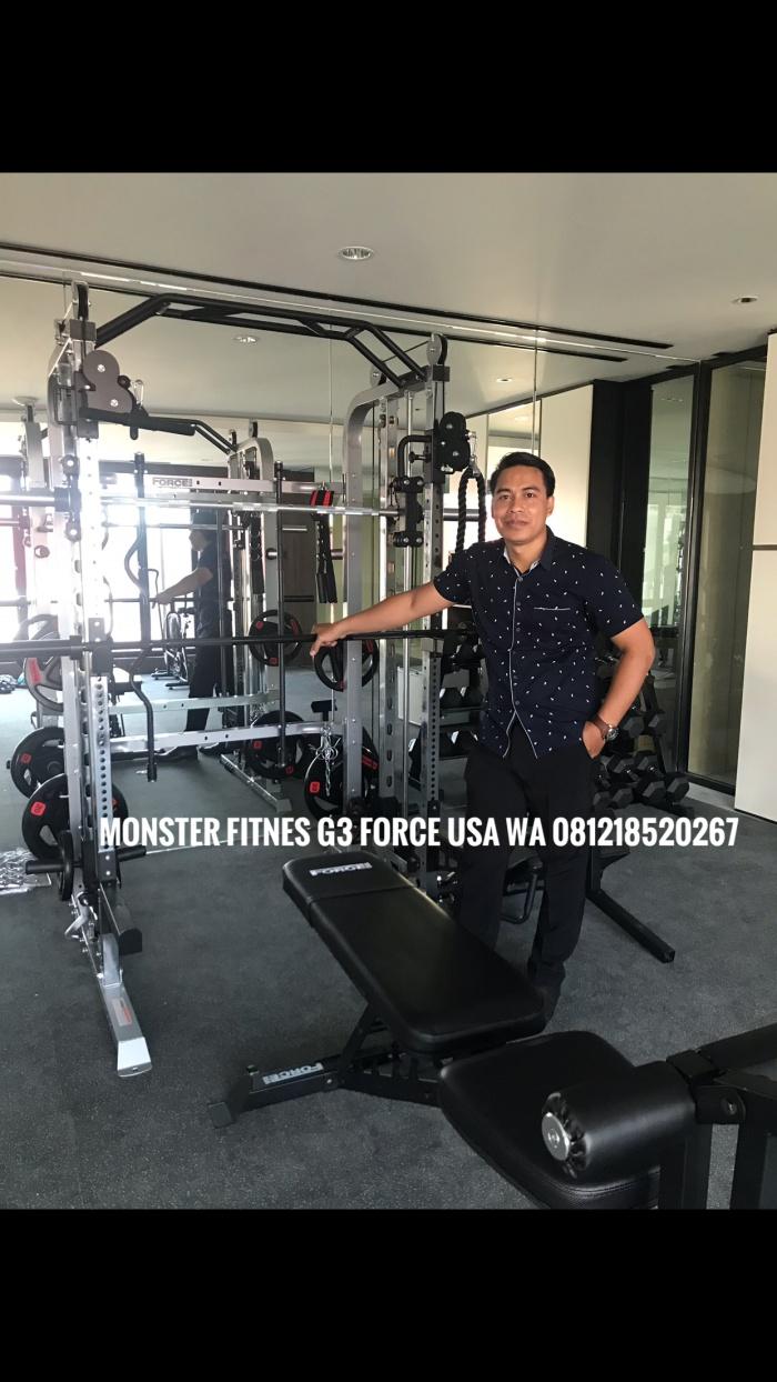 Jual Monster G3 FORCE USA Fitnes Jakarta Utara Jualalatfitnessid