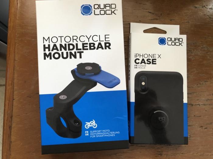 harga Quadlock mounting motor iphone x Tokopedia.com