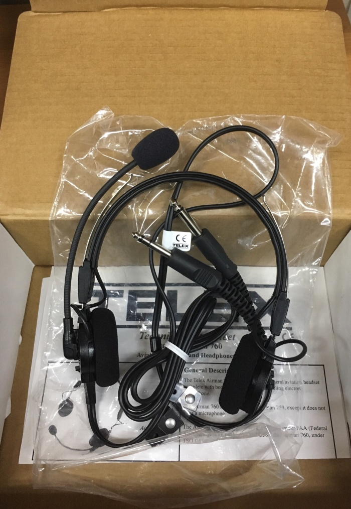 Jual Headset Telex Airman 750 Headset Pilot Fixed Wing Sonicboom Random Tokopedia