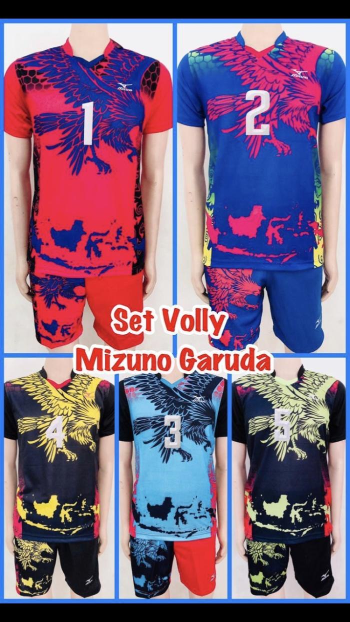 baju volleyball mizuno