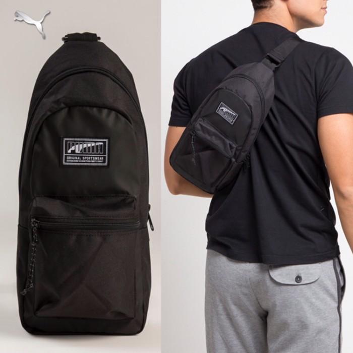 8605a2b8550d Jual Tas Punggung Puma Original - Academy Cross Backpack - QikRas ...