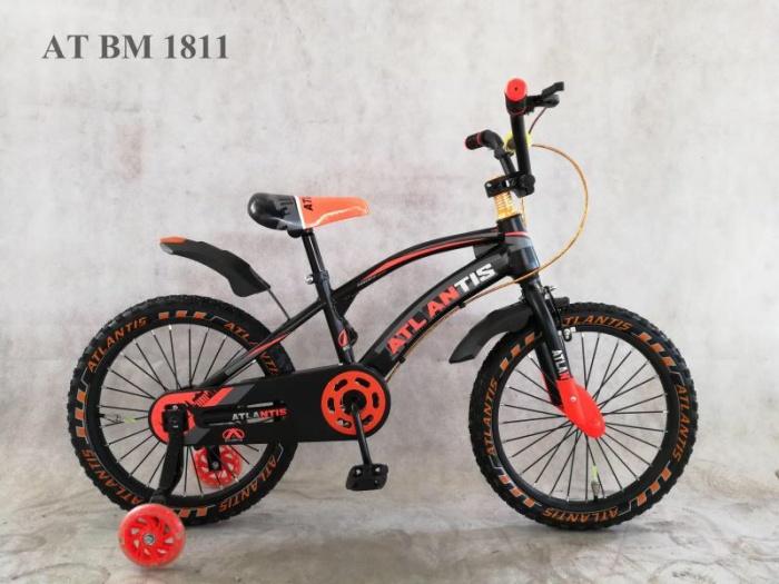 Foto Produk Sepeda Anak BMX 18 Atlantis 011 Overseas Dan Lampu Belakang dari Mitra Jaya Bike