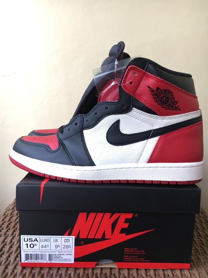 los angeles cc2a8 52191 Jual Sepatu Nike Air Jordan 1 Retro High OG Bred Toe 2018 - Kota Medan -  hypebless   Tokopedia