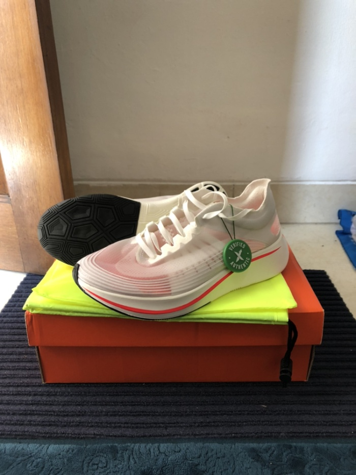 349186a8e1508 Jual Nike Zoom Fly SP Breaking 2 (2018) Size US 8.5 - aregards ...