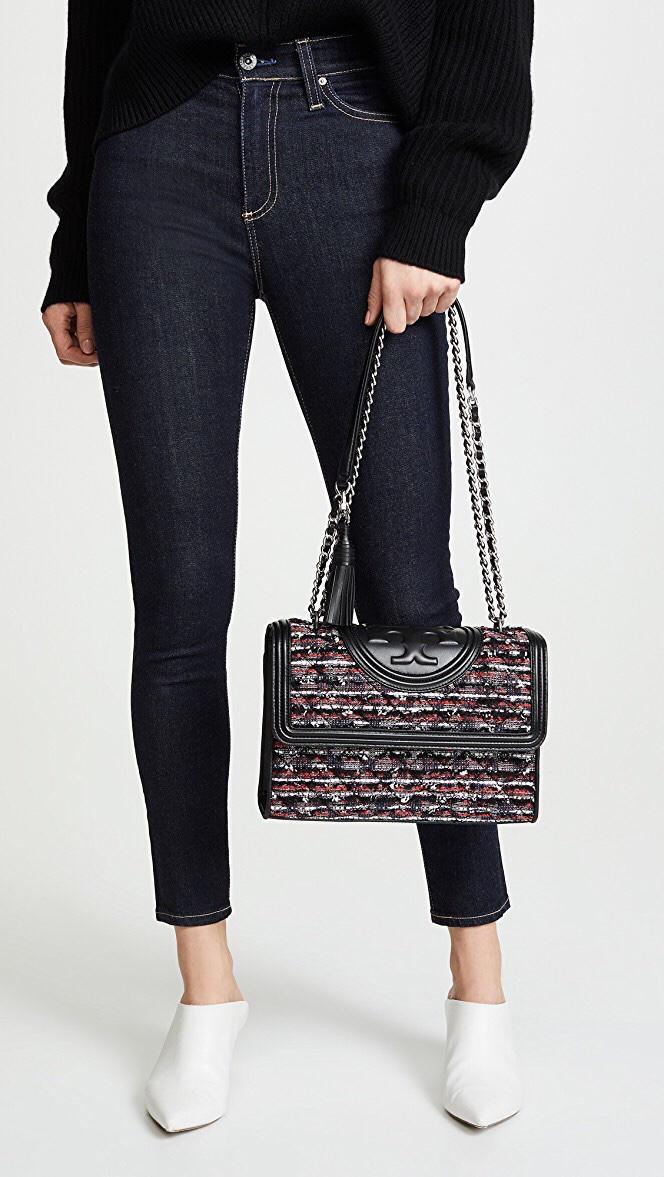 41150b0b5998 Jual Fleming Tweed convertible shoulder bag size medium 27 ...