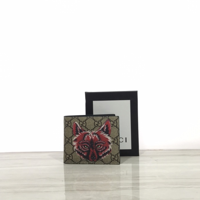 1d61fdddb83e Jual Gucci gg supreme brown wallet red wolf - branded republic ...
