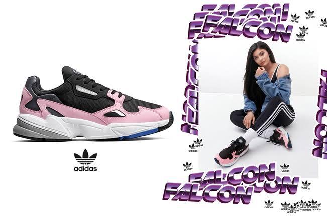 harga adidas falcon x kylie jenner