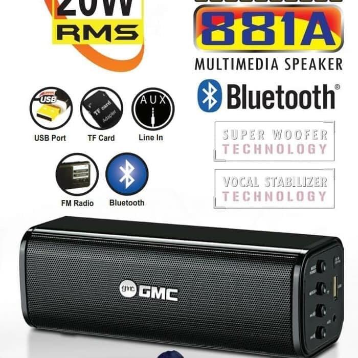 harga Speaker bluetooth mini gmc 881a speaker portable usb memory gmc 881a Tokopedia.com