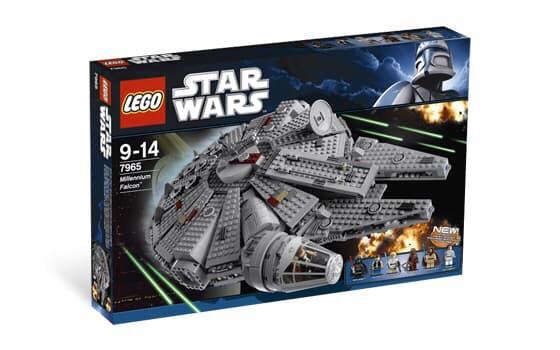 Foto Produk Lego Star Wars 7965 - Falcon Millennium dari Lumi Toys