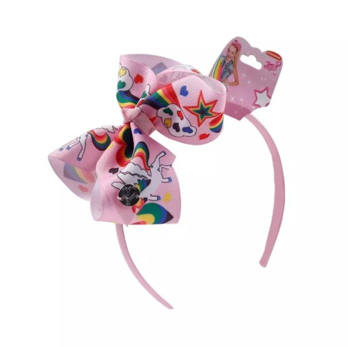 3 Headband Set JoJo Siwa Headband Rainbow Unicorn Ears and Bows