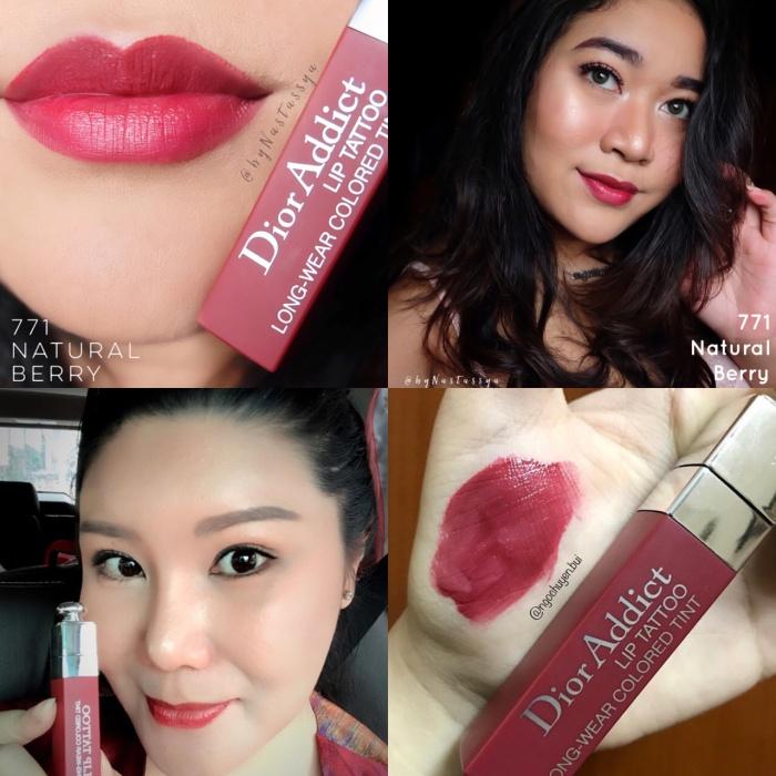 Jual Dior Addict Lip Tattoo Shade Natural Berry 771 Kota Tangerang Beautybyjess Tokopedia