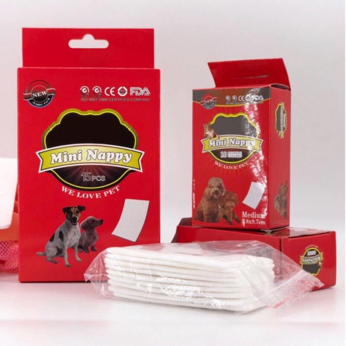 harga Pet sanitary pad loop/ popok anjing/ diaper anjing kucing/ mini nappy Tokopedia.com