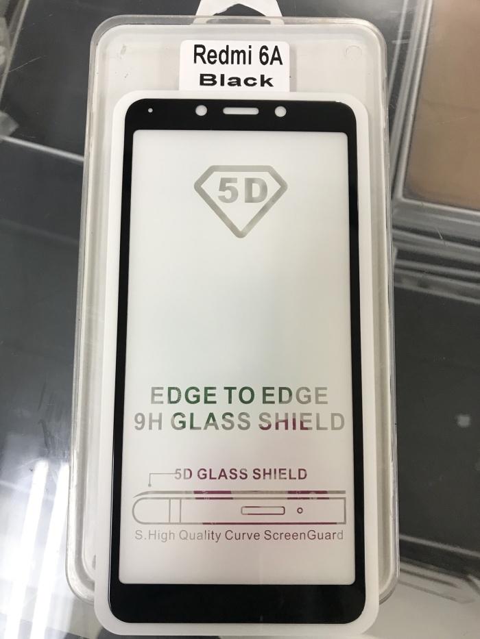 Foto Produk Tempered Glass Xiaomi Redmi 6A Full 5D dari LJS OFFICIAL