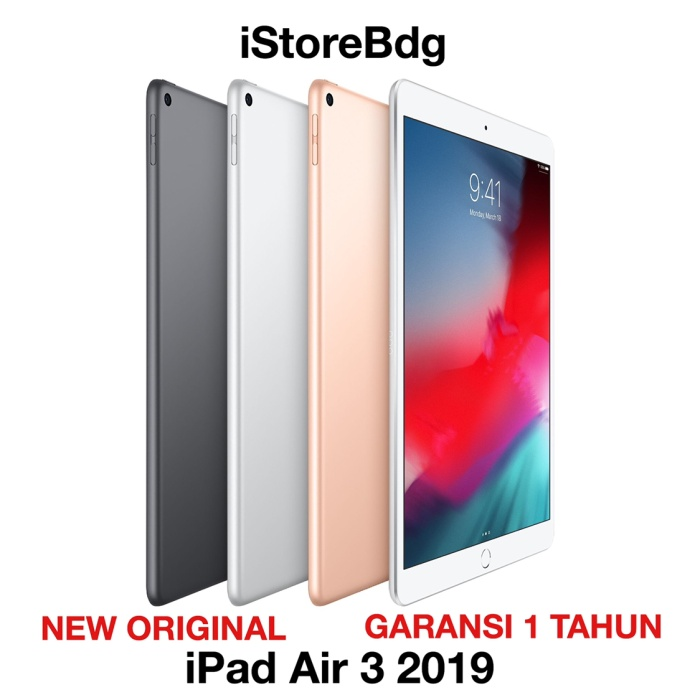 harga Apple ipad air 3 2019 10.5 inch 256gb wifi only Tokopedia.com