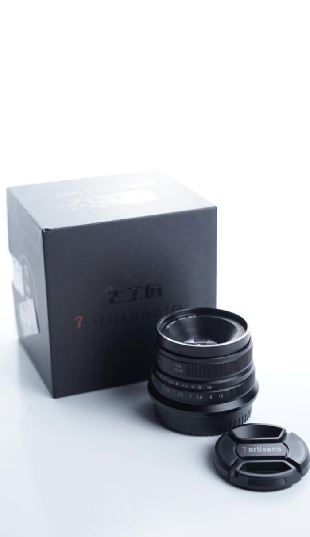 Foto Produk 7 artisans lens 25mm f1.4 fuji mount ( fx ) dari Ergophile Store