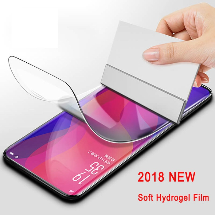 Foto Produk Hydro gel screen protector samsung S10+/plus / oppo find x dari great acc