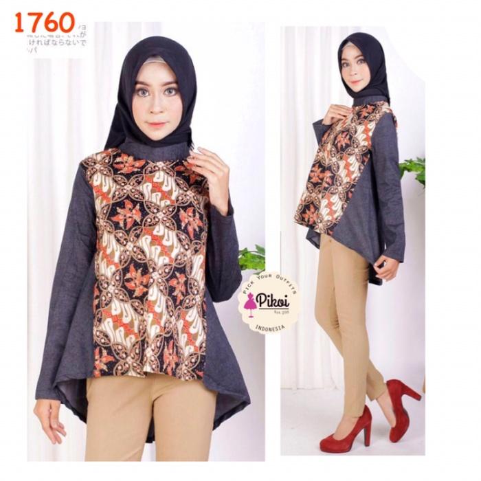 78 Gambar Baju Batik Modern