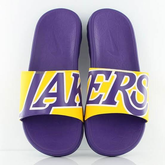 Sandals Nike Nba Solar Soft La Lakers