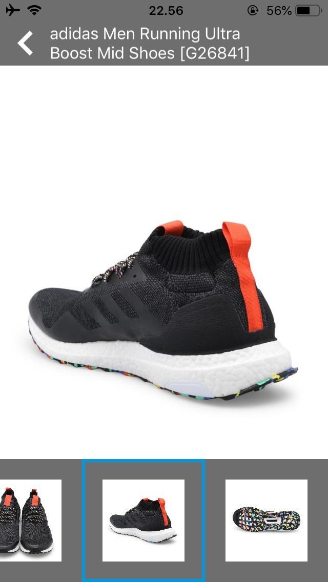 67081637e928b Jual adidas Men Running Ultra Boost Mid Shoes  G26841 ...