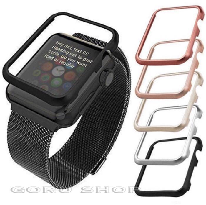 super popular 15ba7 7f940 Jual Bumper hard case apple watch series 1 2 3 best quality 38 42 38mm 42mm  - DKI Jakarta - goru | Tokopedia