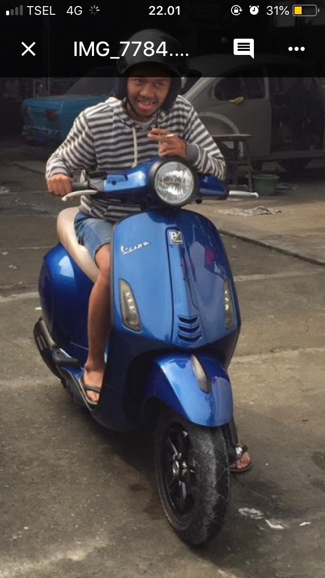 Jual Jual Motor Vespa Primavera 3v Kota Bogor Rasyidgarage