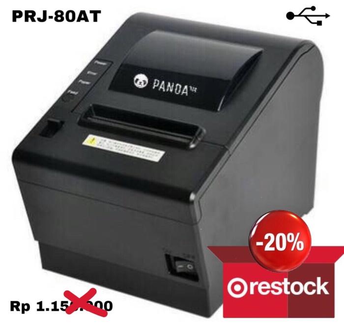 harga Pos mini printer kasir 80 mm thermal panda prj-80at usb (auto cutter) Tokopedia.com