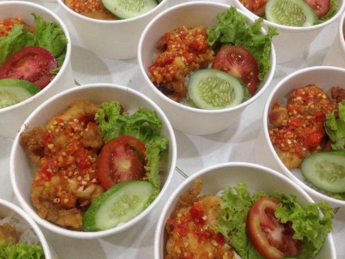 Jual Bento Ayam Geprek Crispy Jakarta Timur Bunda Difa Tokopedia