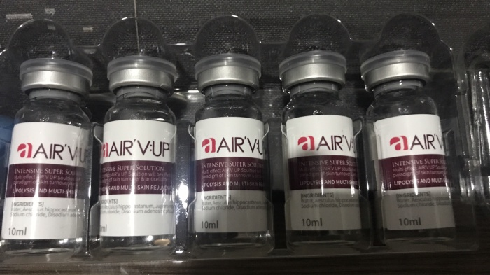 Airfeeling. new product. lipolysis chubby cheek grade 3. 1x tirus ecer