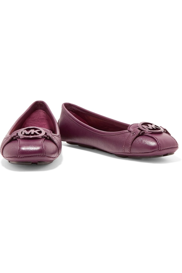 fe5f8f37c Jual Sepatu Wanita MICHAEL KORS Leather Flat Shoes (100% Authentic ...