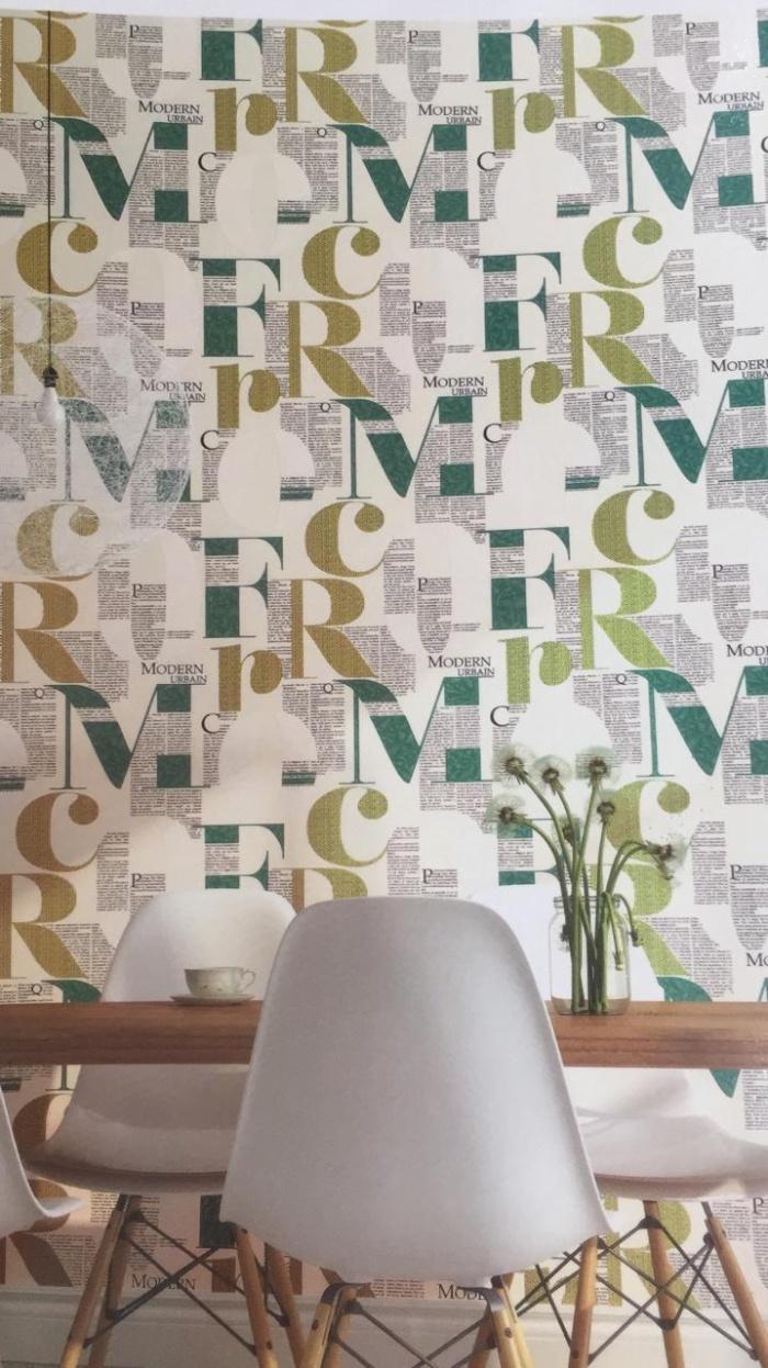 Jual Wallpaper Dinding Motif Tulisan Moderen Kota Bekasi Wallpapergrosir