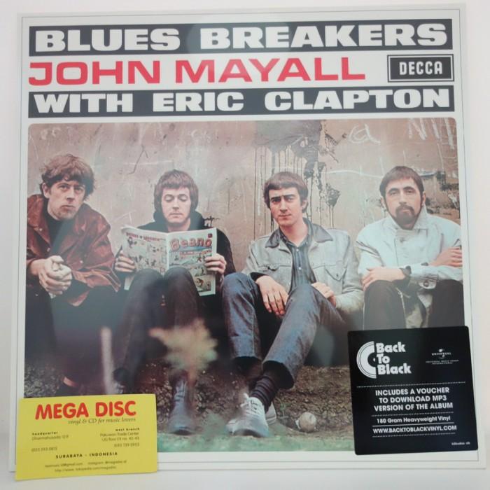 harga Lp john mayall with eric clapton - blues breakers album vinyl ph Tokopedia.com