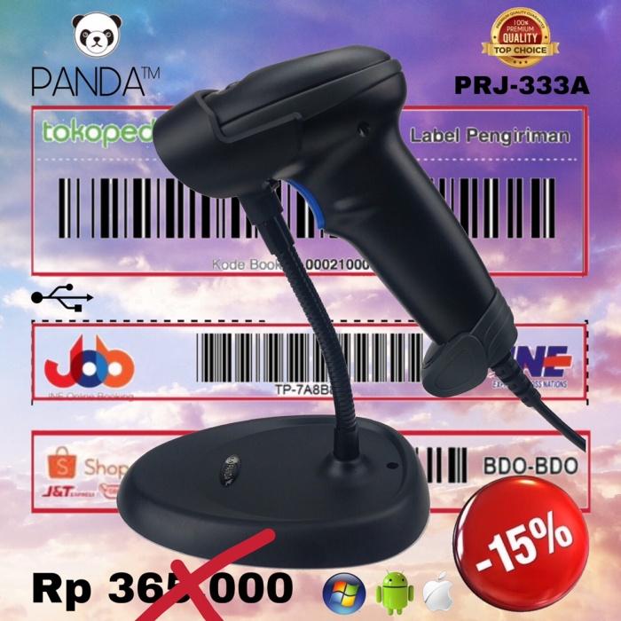 Foto Produk Auto-Sensing Laser Barcode Scanner Panda PRJ-900A Auto Sense-Scan USB dari PANDA RETAIL SOLUTIONS