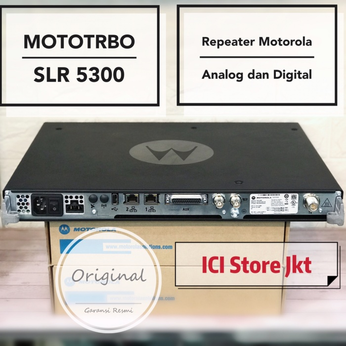 Jual Repeater Motorola MOTOTRBO SLR 5300 - DKI Jakarta - Ici Store Jkt |  Tokopedia