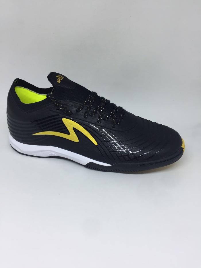 Promo Sepatu Futsal Specs Original Accelerator Lightspeed 2 Black