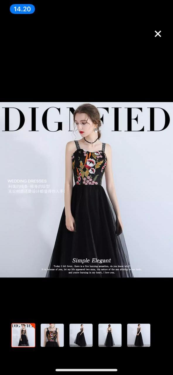 Jual Gaun Malam Elegan Bordiran Kota Pontianak Fashionable2019 Tokopedia