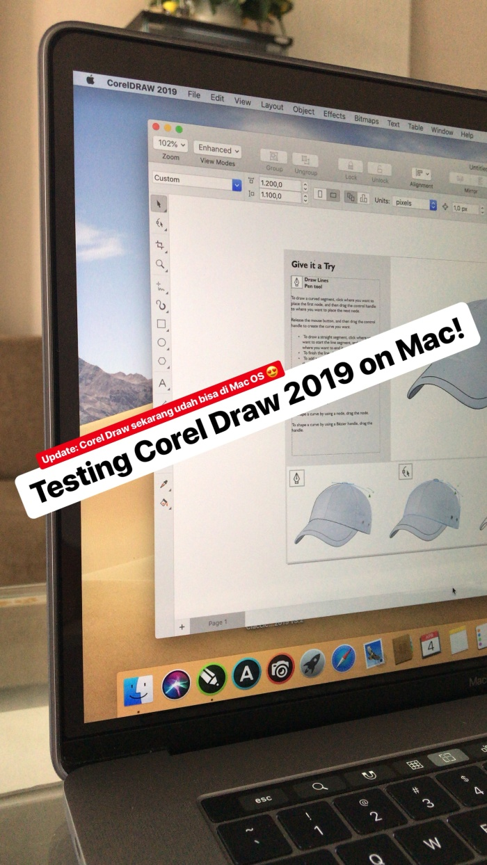 Jual Software Aplikasi Apps For Mac Corel Draw 2019 Macbook Kota Surabaya ISolution Surabaya