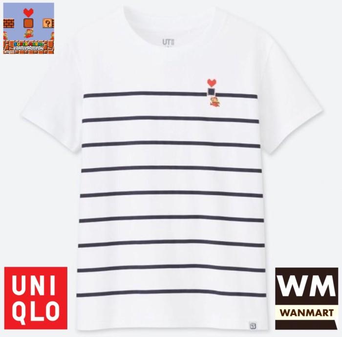a5b819513 Jual UNIQLO Women UT T-Shirt Kaos Wanita Grafis Nintendo Super Mario ...